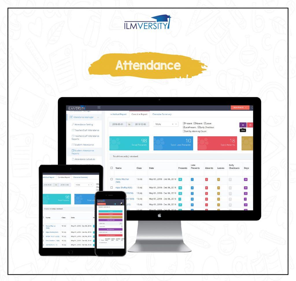 SMART ATTENDANCE MANAGER FOR FASTER ATTENDANCE – Ilmversity