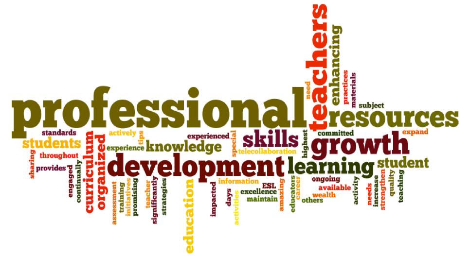 Why Professional development is obligatory in the profession of teaching?